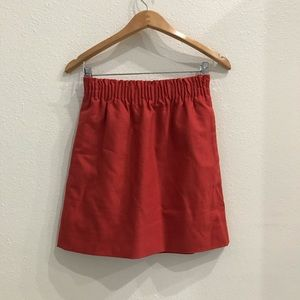 J. Crew Factory Pleated Mini Skirt Dusty Rose 0